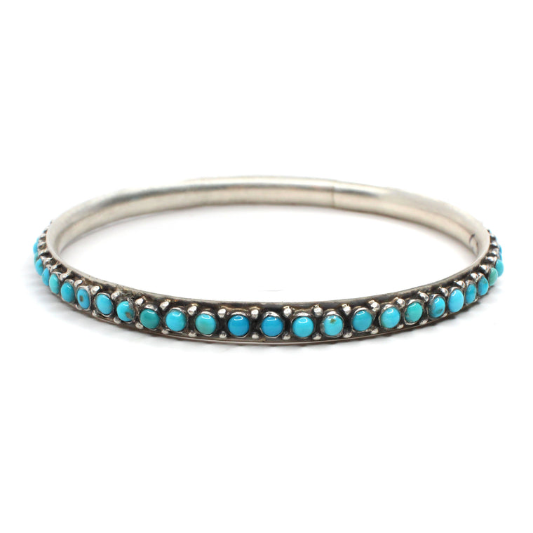 "Turquoise Bangle (8"")"