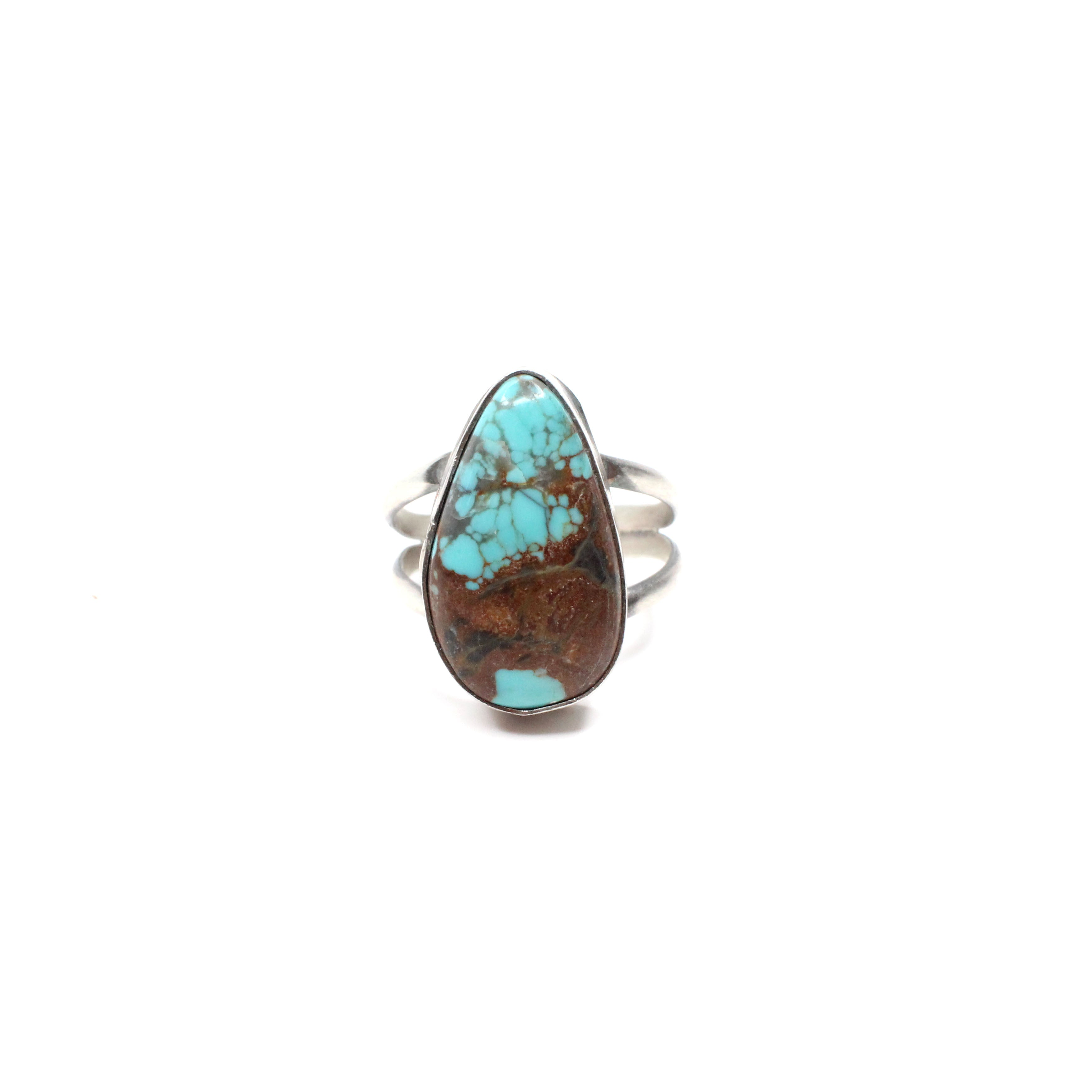 Simple Turquoise Ring (6 1/2)