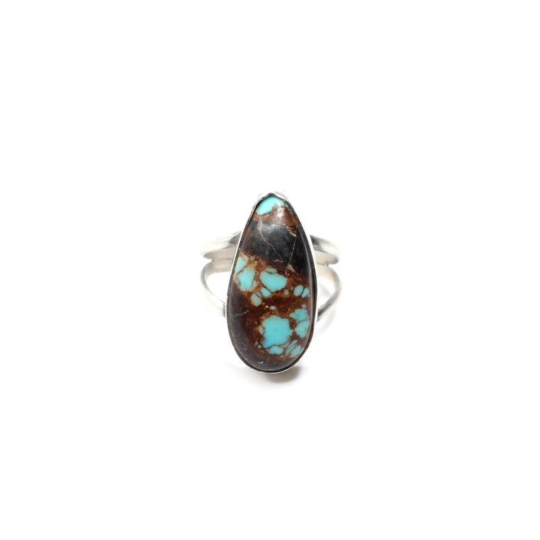Black Friday Simple Turquoise Ring (6 1/2)