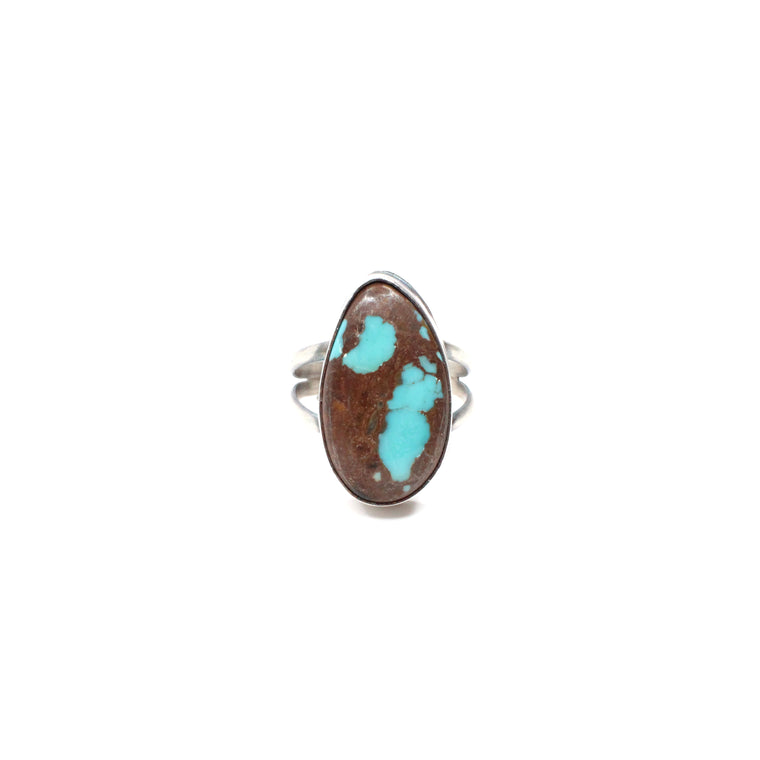 Black Friday Simple Turquoise Ring (7 1/2)