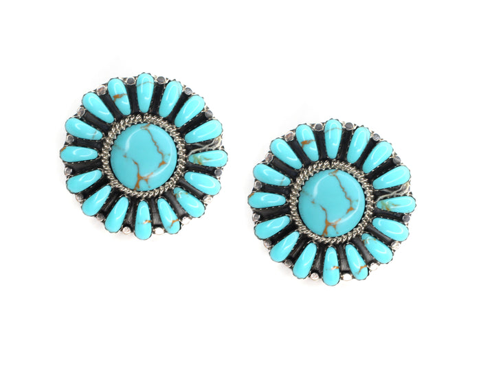 "1 1/4"" Round Cluster Posts -  Turquoise"