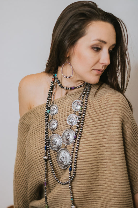 The Concho Statement Necklace
