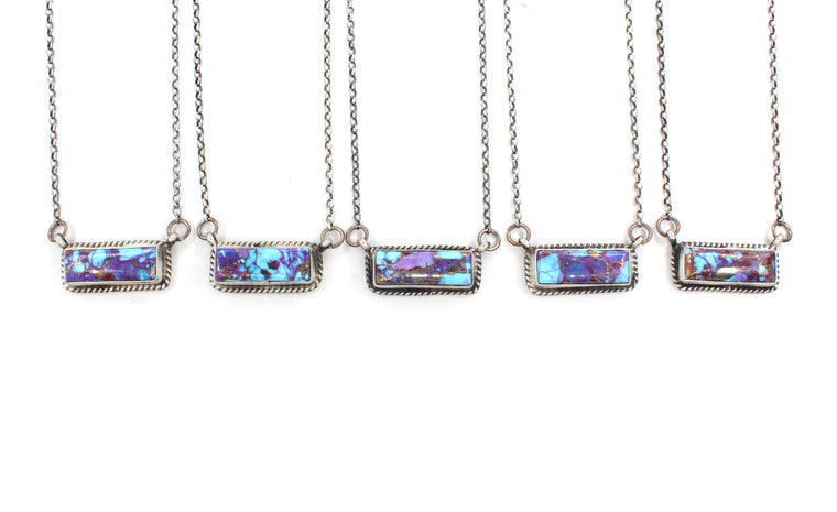 The Karley Bar Necklaces