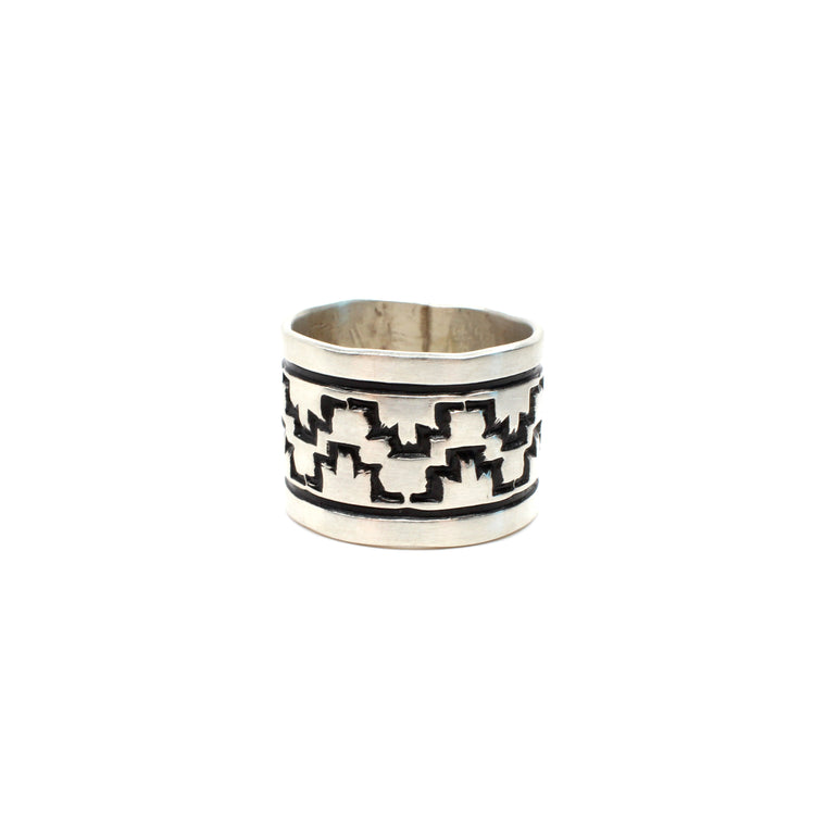 Navajo Rug Pattern Ring (7 1/2)