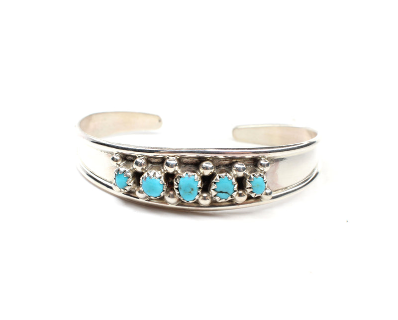 The Swazy Baby Cuff - Turquoise