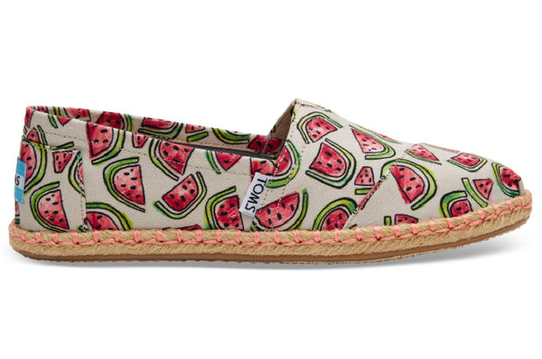 Tom's Shoes Watermelon