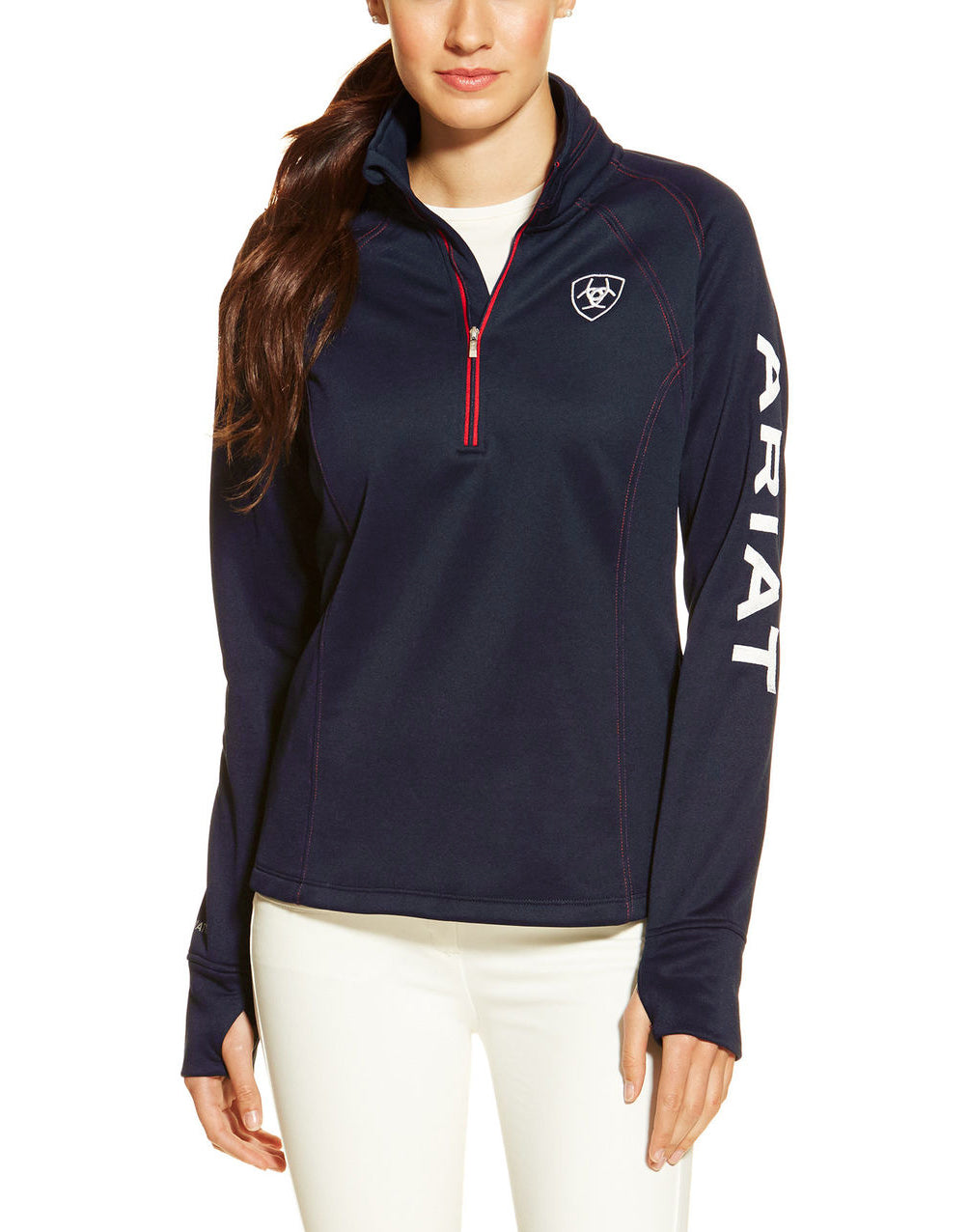 Ariat Women's Tek Team 1/4 Zip Top - North Shore Saddlery