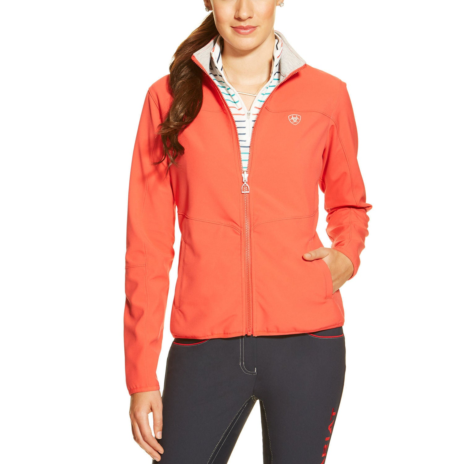 Ariat Morris Reversible Jacket in Flame - SALE - North Shore Saddlery