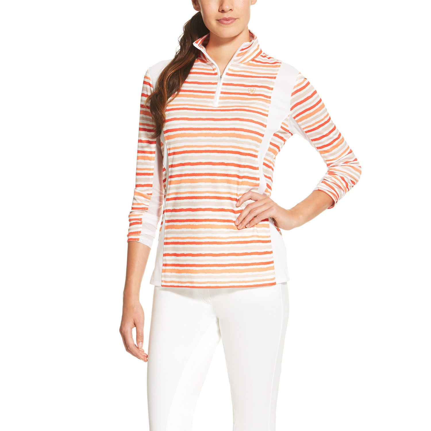 Ariat Sunstopper 1/4 Zip Top - SALE - North Shore Saddlery