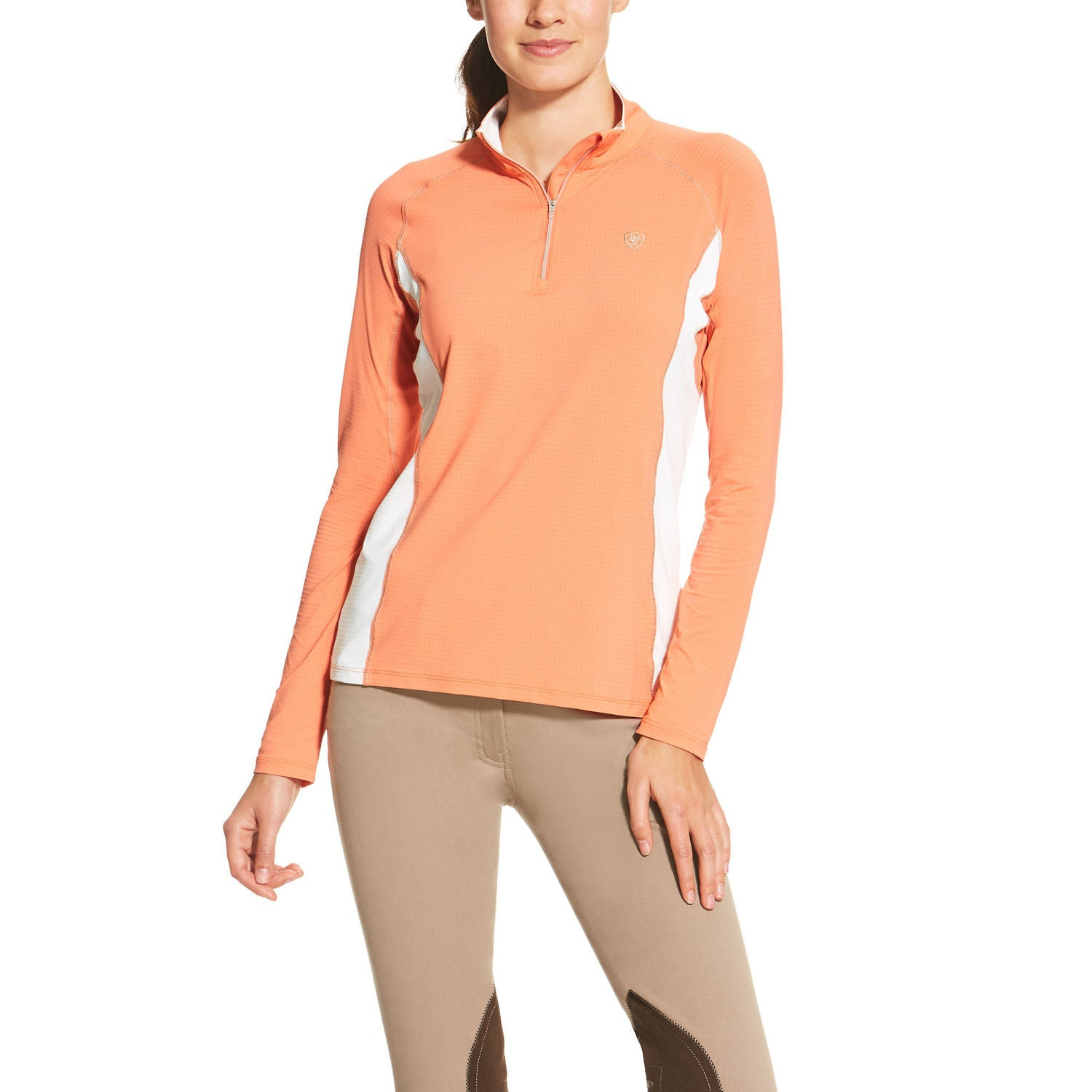 Ariat Tri Factor 1/4 Zip Shirt - SALE - North Shore Saddlery