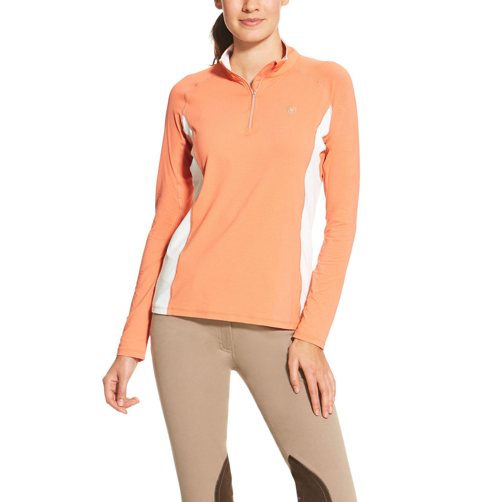 Ariat Tri Factor 1/4 Zip Shirt - SALE