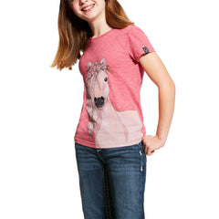 Ariat Girls Festival Horse Tee Shirt