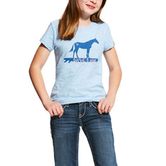 Ariat Girls Surf's Up Tee Shirt