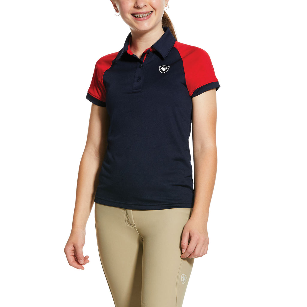 Ariat Kids Team 3.0 Short Sleeve Polo Shirt