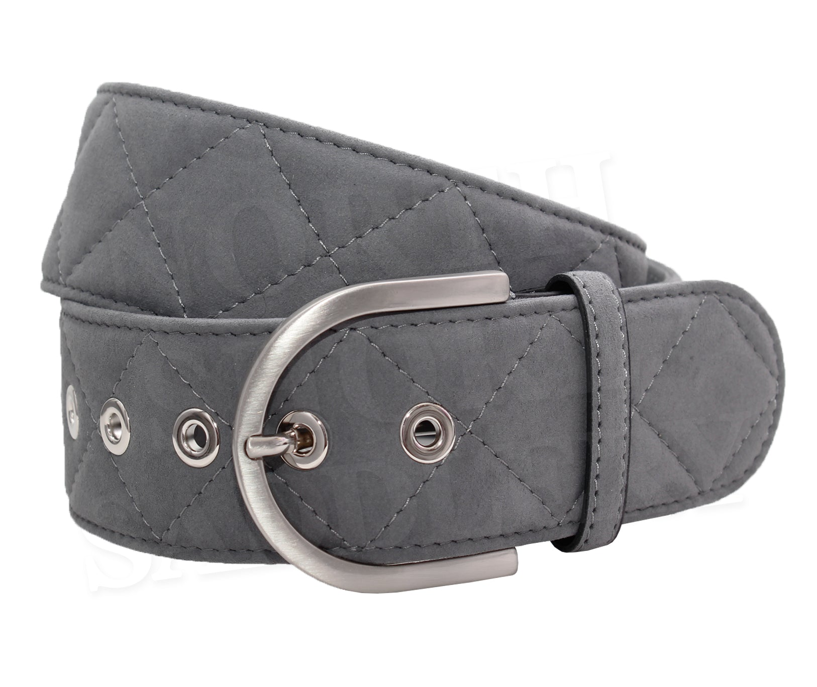 Tailored Sportsman Clarino Quilted C Belt - North Shore Saddlery