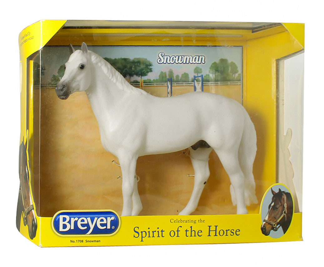 Breyer Snowman - Famous Show Jumper - North Shore Saddlery