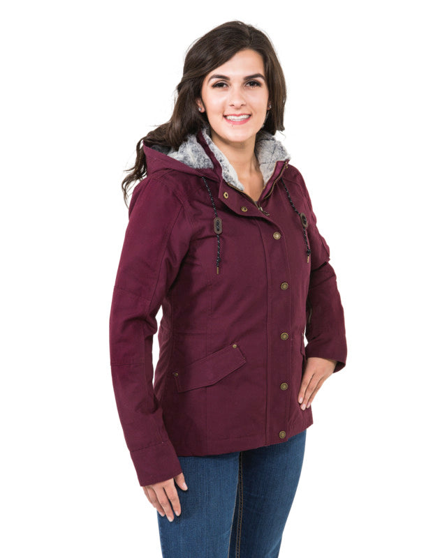 Noble Outfitters Women's Girl Tough Canvas Jacket - SALE