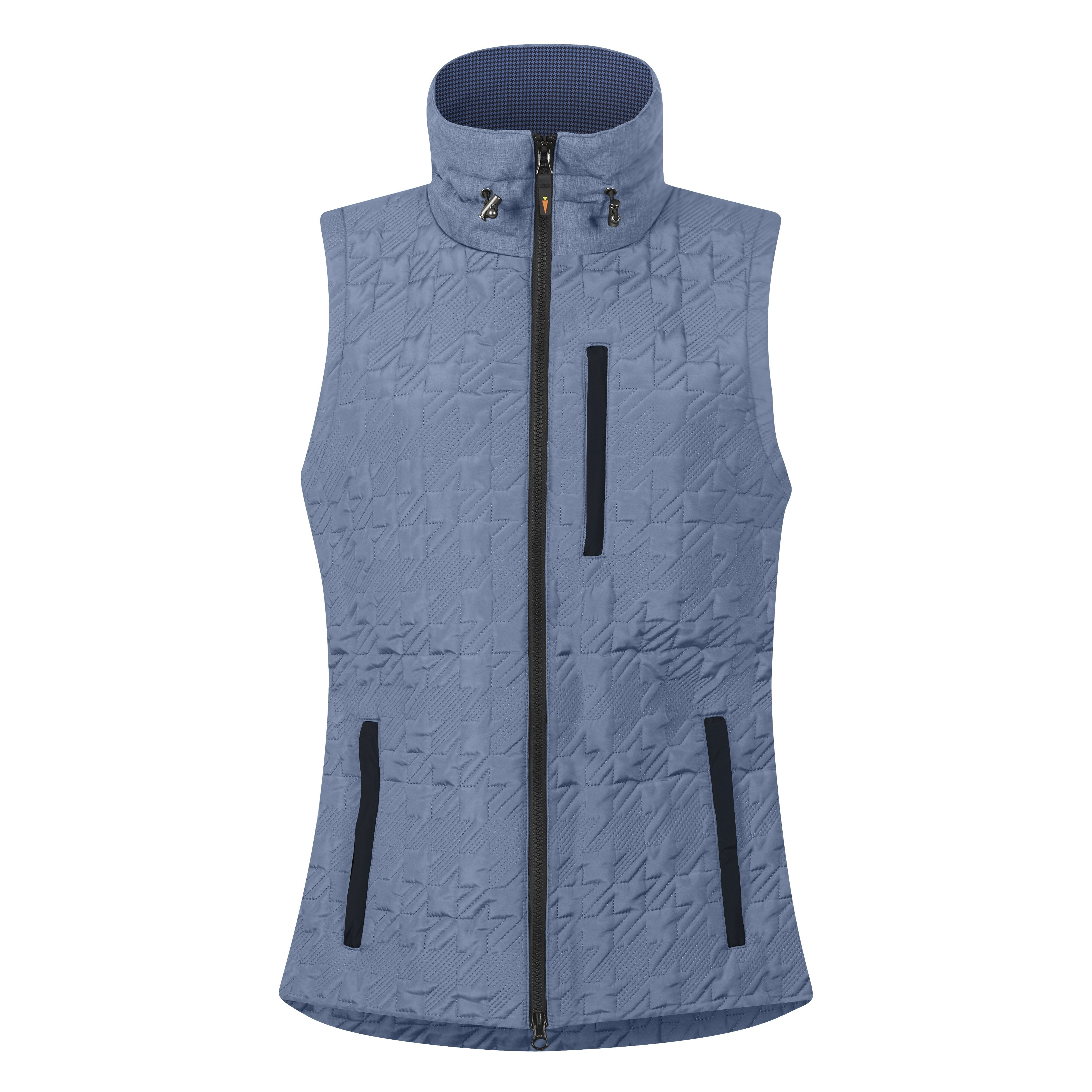 Kerrits Quilted Houndstooth Riding Vest - North Shore Saddlery