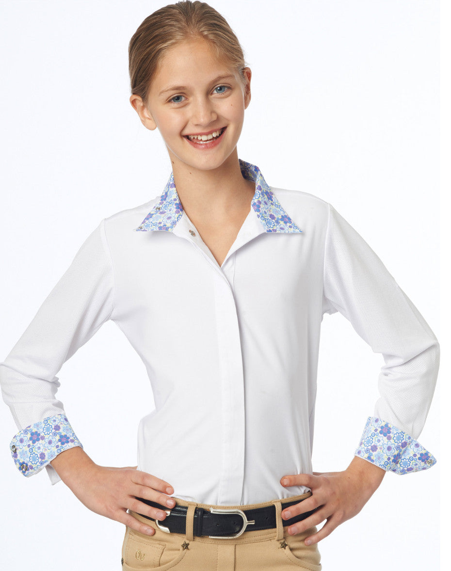 Ovation Ellie Child's Tech Show Shirt - North Shore Saddlery