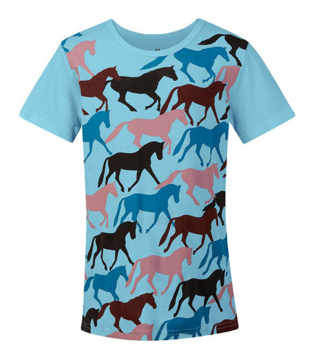 Kerrits Kids Round Up Horse Tee Riding Shirt - SALE
