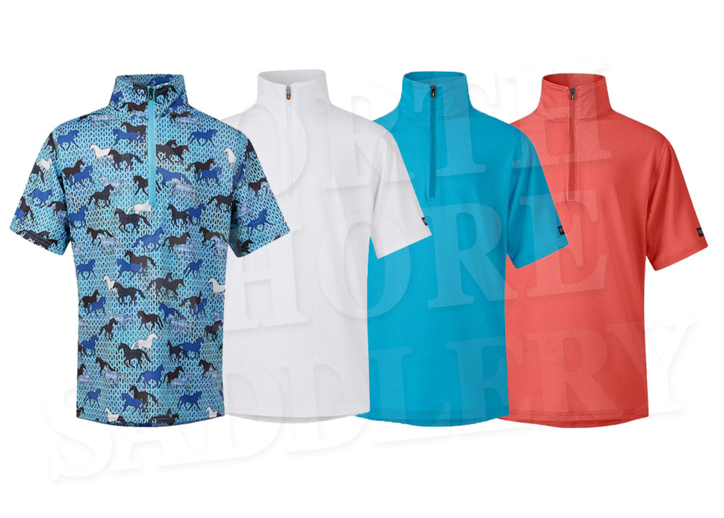 Kerrits Kids Ice Fil Short Sleeve Shirt - SALE