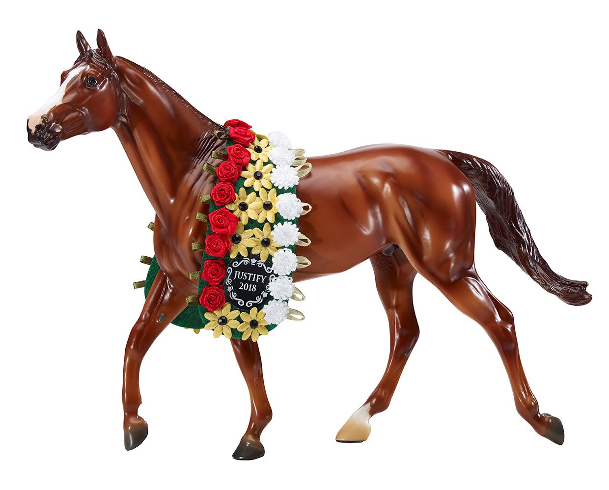 Breyer Justify 2018 Triple Crown Winner Traditional Model - North Shore Saddlery