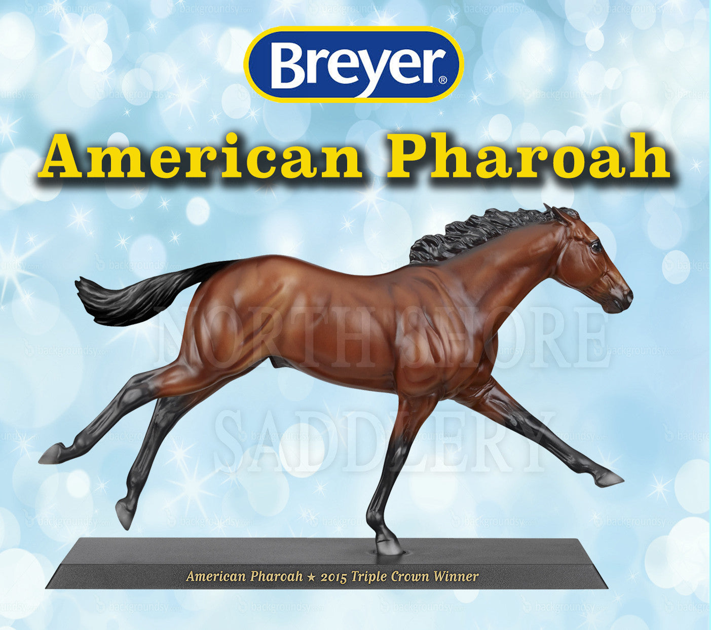 Breyer American Pharoah - Triple Crown Winner 2015 - North Shore Saddlery