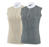 Animo Bombay Sleeveless Piquet Technical Competition Shirt - SALE - North Shore Saddlery
