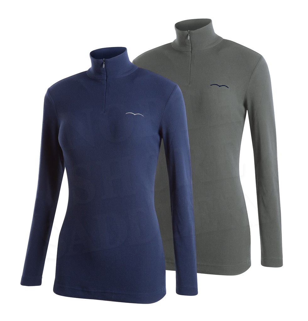 Animo Boston Long Sleeve Ribbed Performance Shirt
