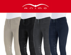 Animo Naspre Mid Rise Knee Patch Breech