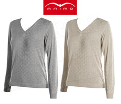 Animo Solei V-neck Sweater - North Shore Saddlery