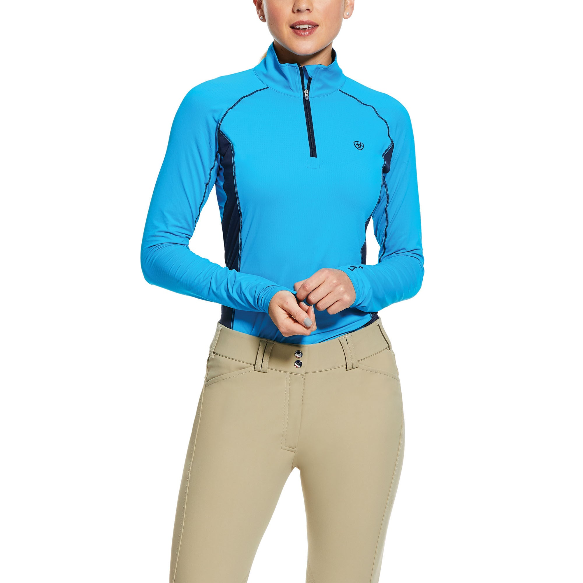 Ariat Tri Factor 1/4 Zip Baselayer Shirt - North Shore Saddlery