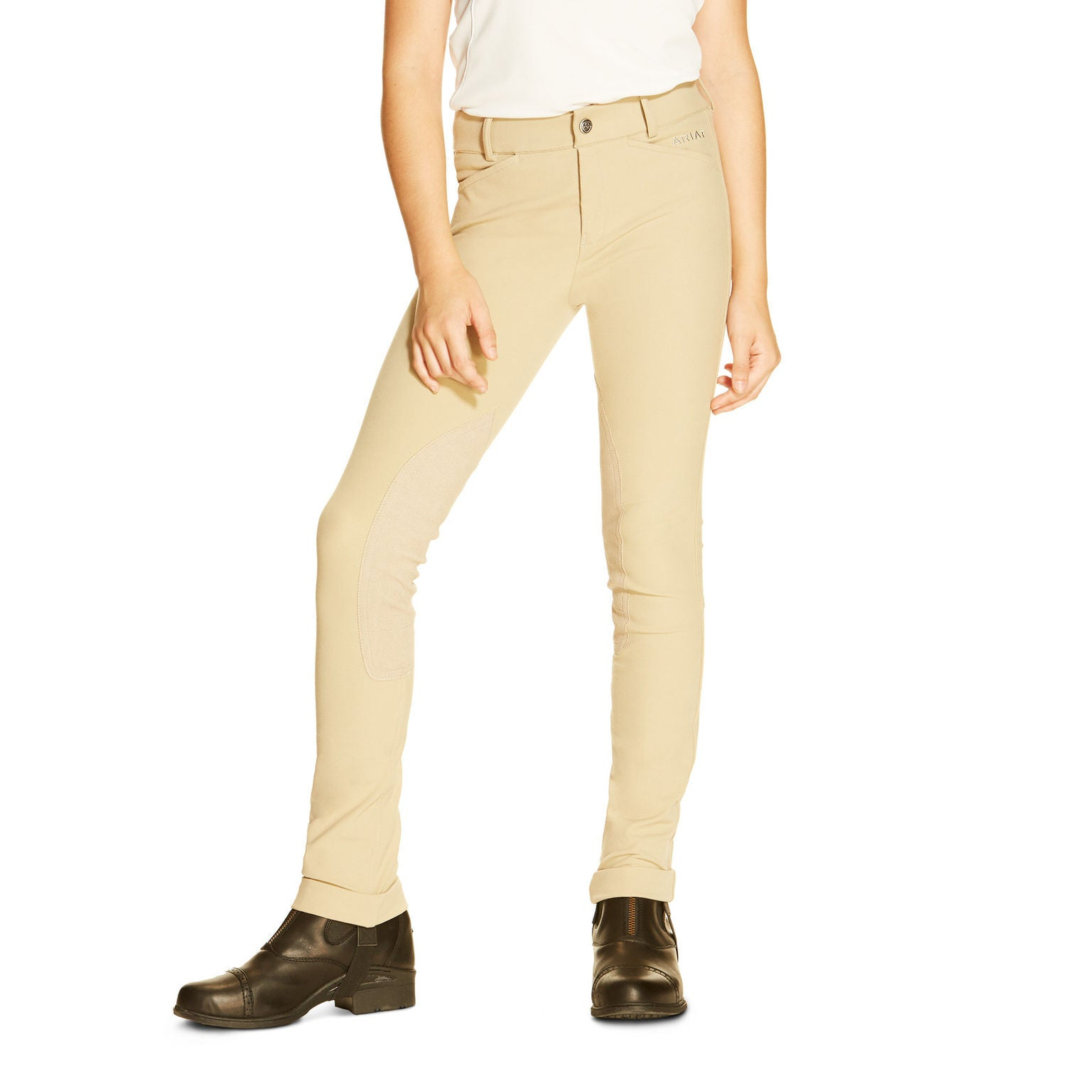 Ariat Kids Performer Front Zip Jodhpurs - North Shore Saddlery