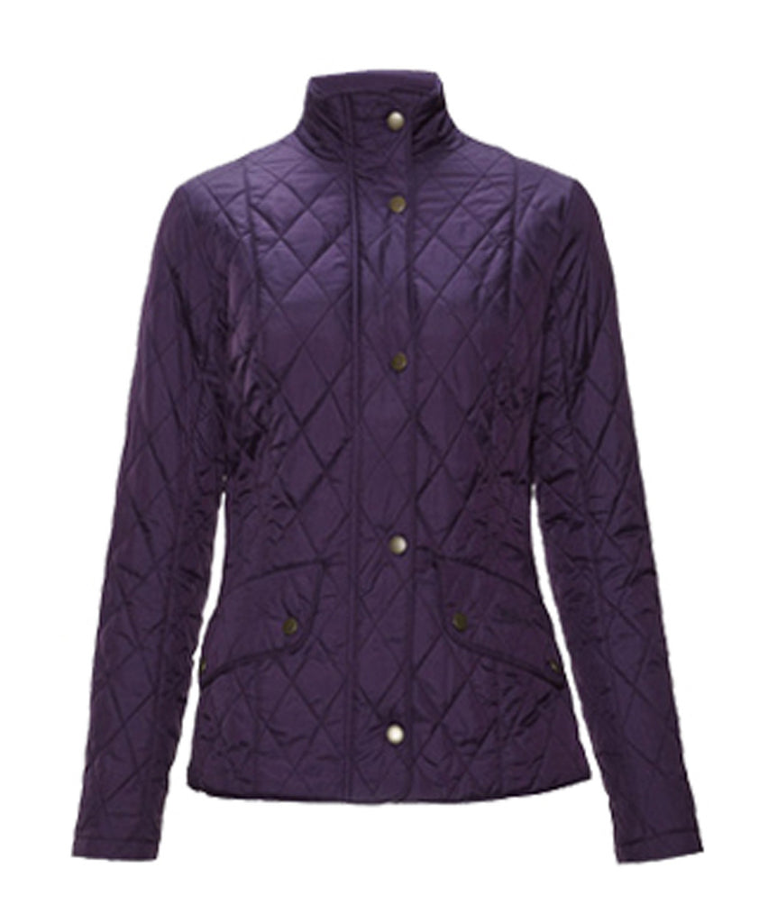 Barbour Flyweight Cavalry Jacket - Elderberry - SALE