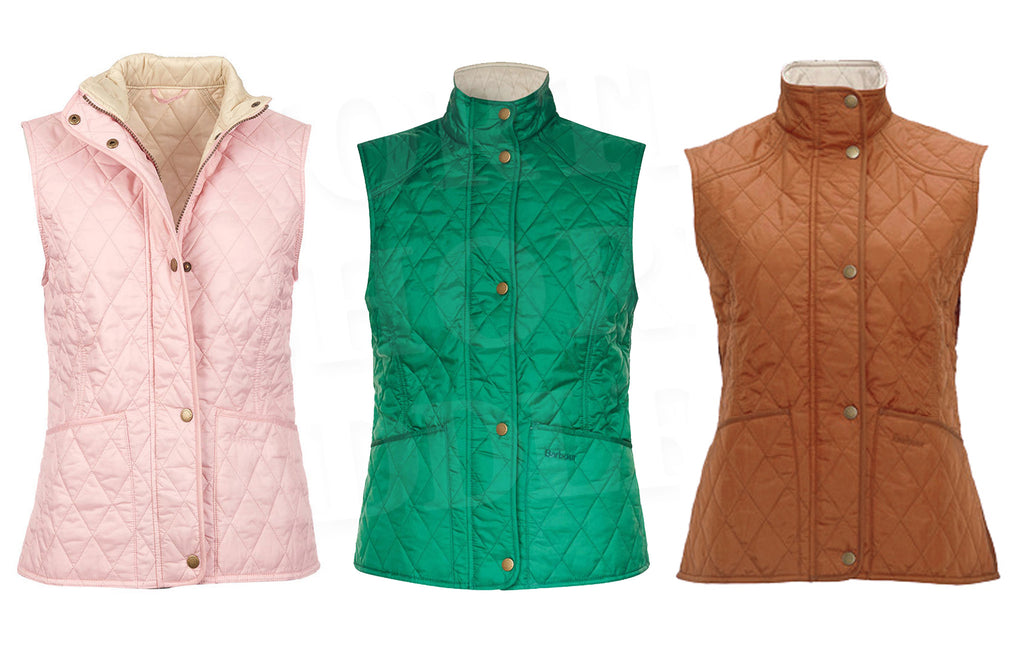 Barbour Summer Liddesdale Quilted Gilet - SALE Colors
