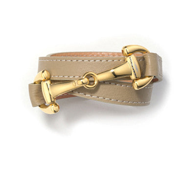 DiMacci Burghley Bracelet With Gold-Plated Bit Clasp
