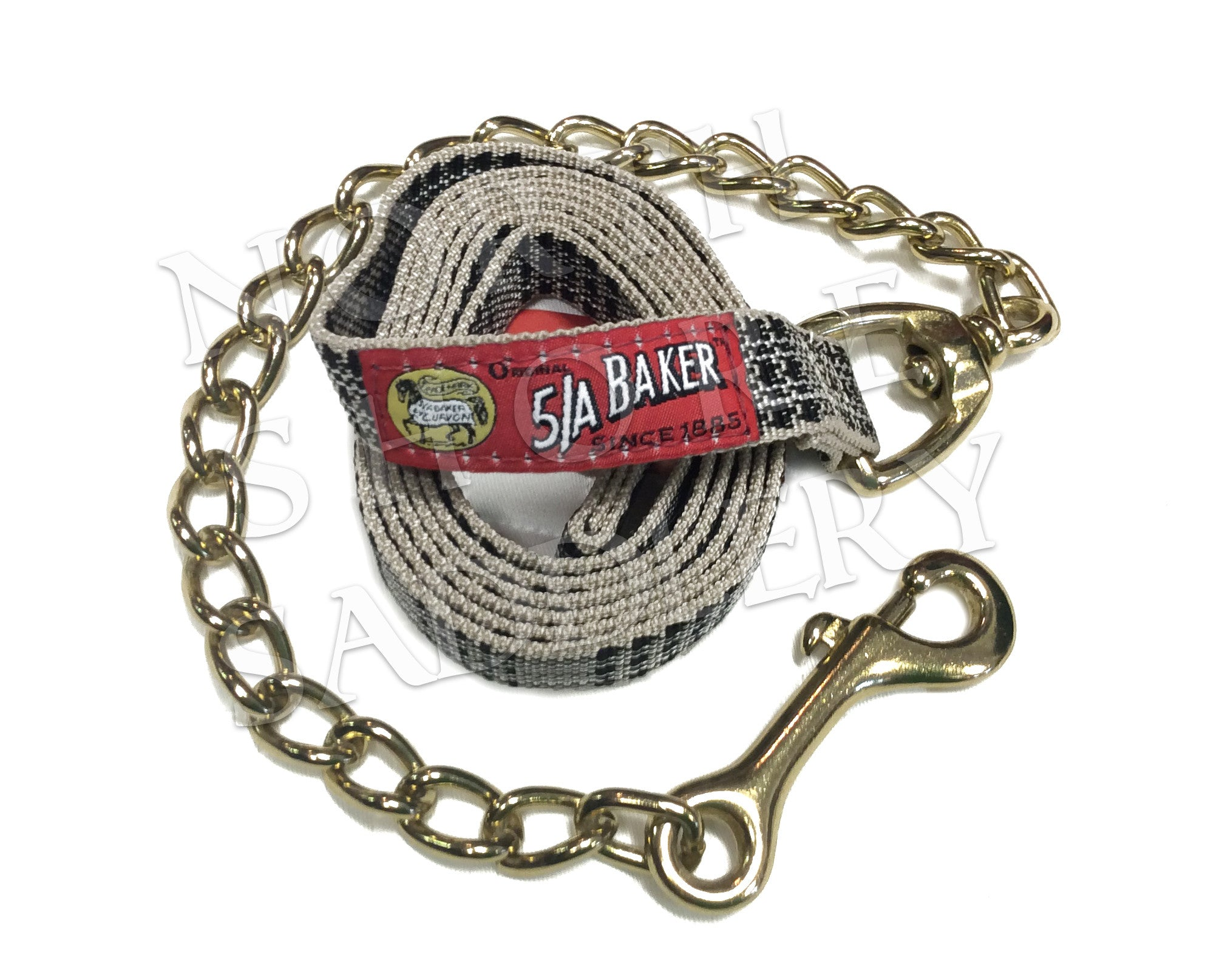 Baker 7' Lead with Chain - North Shore Saddlery