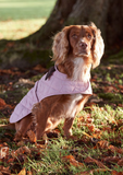 Barbour Pink Quilted Dog Coat