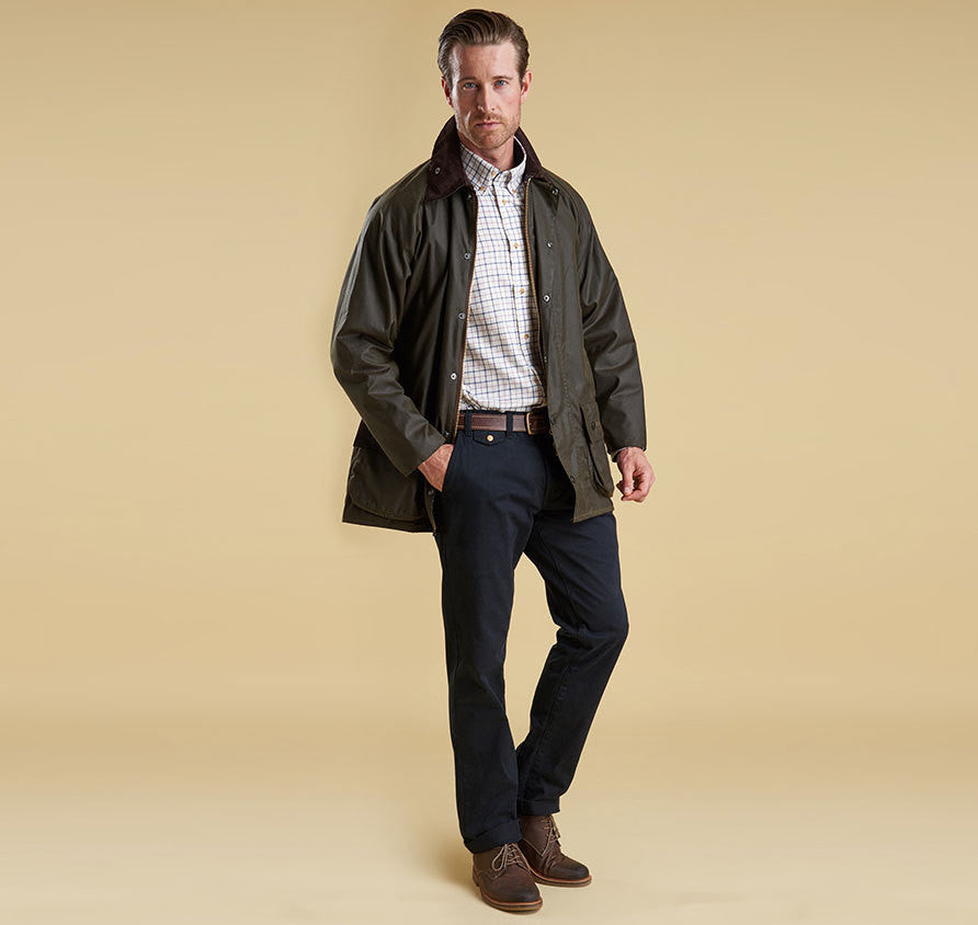 67b9c3147bb Barbour Beaufort Waxed Jacket