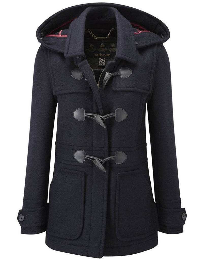 Barbour Wool Buttermere Ladies Duffle Coat - SALE