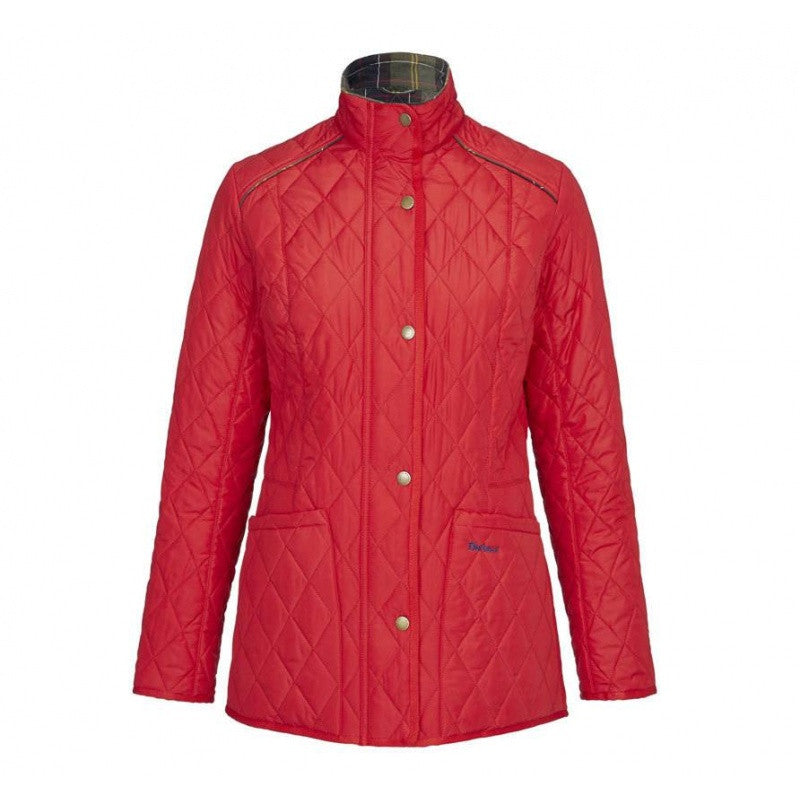 Barbour Cavalry Liddesdale Jacket in Chilli Red - North Shore Saddlery
