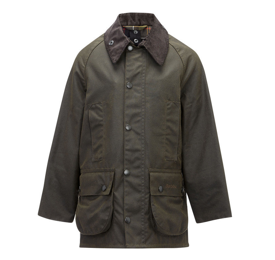 Barbour Child's Beaufort Waxed Jacket - SALE