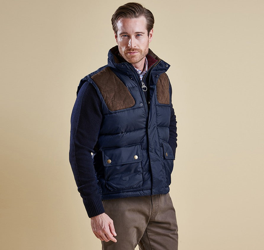 Barbour Colwarmth Men's Quilted Gilet - SALE | North Shore Saddlery : barbour mens quilted vest - Adamdwight.com