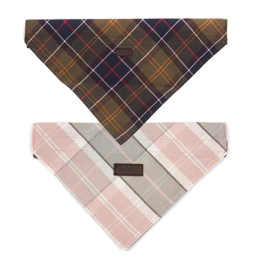 Barbour Tartan Dog Bandana