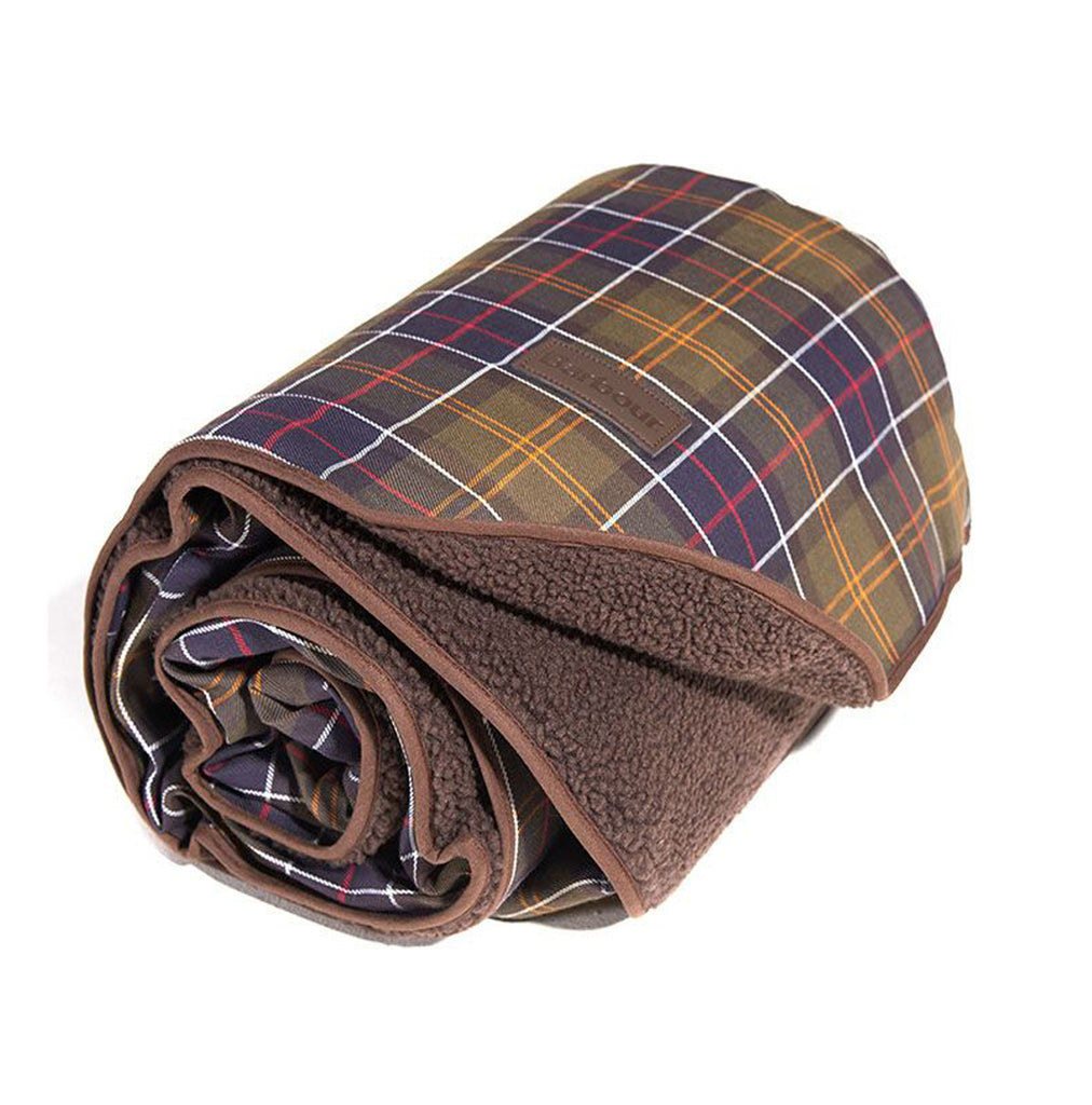 Barbour Fleece Dog Blanket
