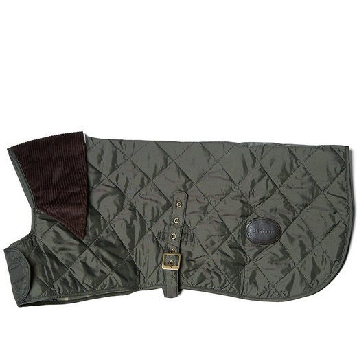 Barbour Green Quilted Dog Coat North Shore Saddlery