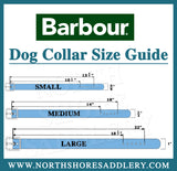 Barbour Wool Touch Tartan Dog Collar - North Shore Saddlery