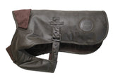 Barbour New Wax Cotton Fleece Lined Dog Coat - North Shore Saddlery
