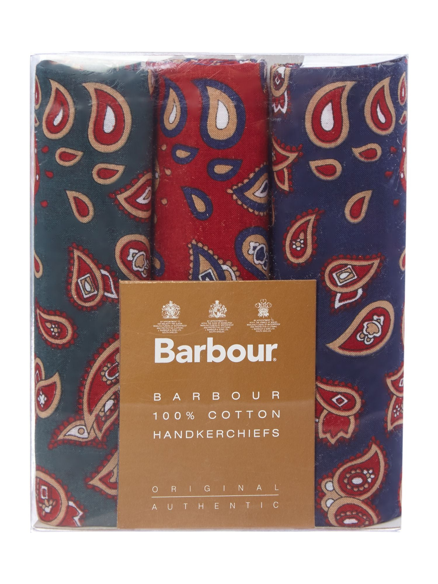 Barbour Paisley Handkerchief Set - North Shore Saddlery