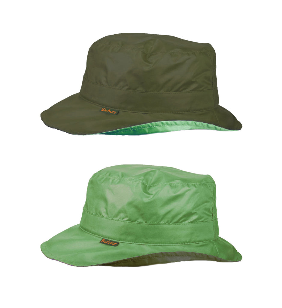 Barbour Reversible Pull On Rain Hat - SALE